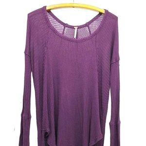 Free People Tunic Thermal Sunset Park Tunic Top